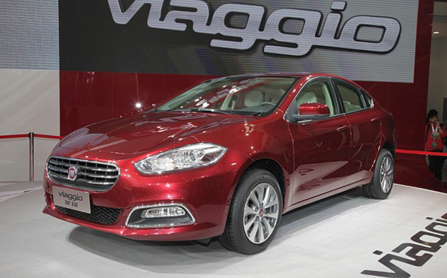 Will India be the one to see Fiat Viaggio after its China roll out?