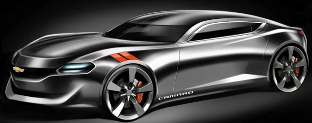 Tyler Barne comes up with a Batmobile like 2015 Chevrolet Camaro design