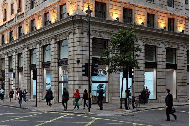 Audi embracing new retail concep Audi City in London