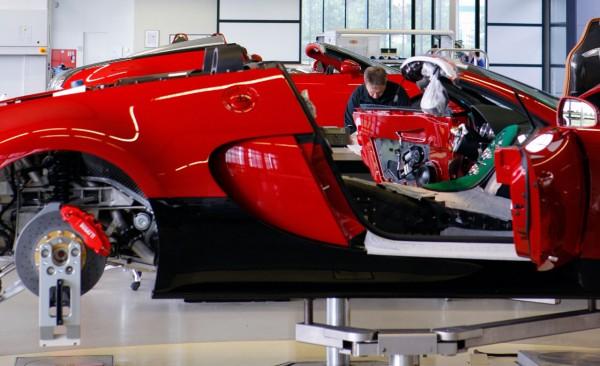 Bugatti Workshop  Inside view of the world's fastest car maker