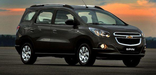 Chevrolet Spin Exteriors