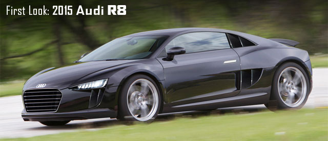 First Look on the 2015 Audi R8
