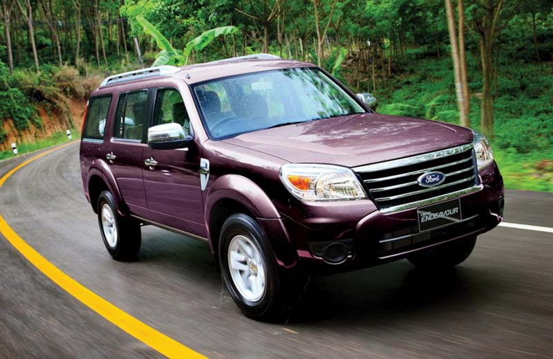 Ford Endeavour in India