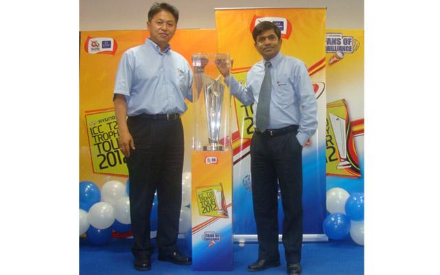 Hyundai Announces ICC World Twenty20 Trophy Tour