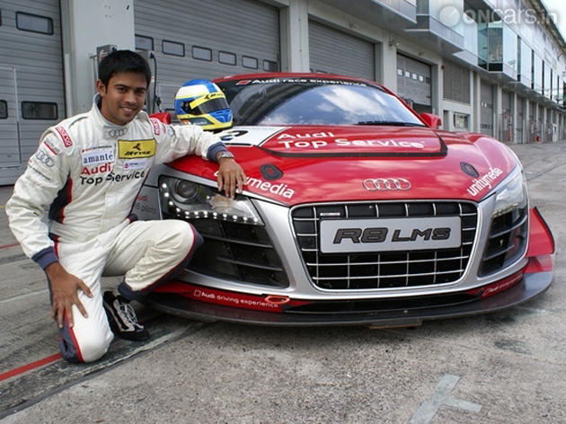 Indian boy to participate in the 7th VLN endurance race