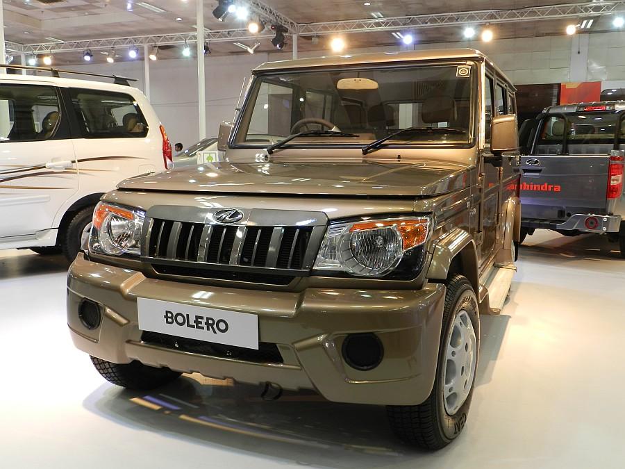 Mahindra SUV Bolero 2012