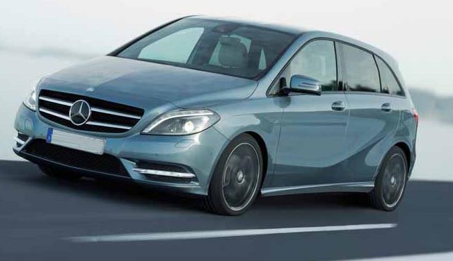 Mercedes Benz B-Class Unveiled