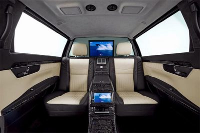 Mercedes Benz S600 Pullman Guard The Presidents car