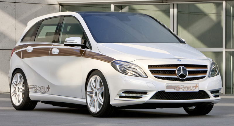 Mercedes Benz included in the Zero emission vehicles with the Benz B class Electrical by 2014