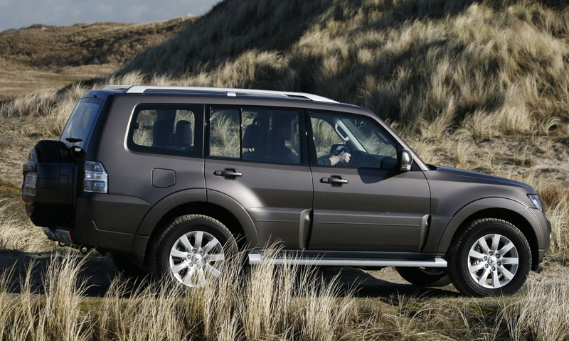 Mitsubishi Pajero in India