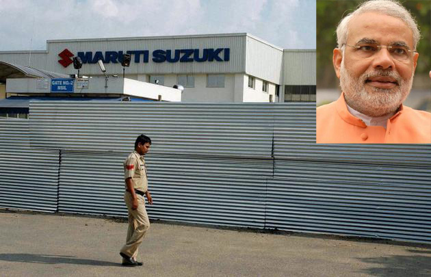 Modi will try to convince Maruti to shift to Gujarat