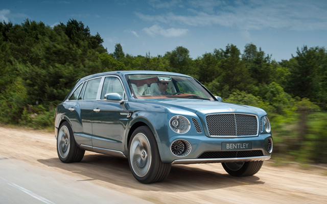 New Bentley EXP 9 F Concept's Images Are Out Officially