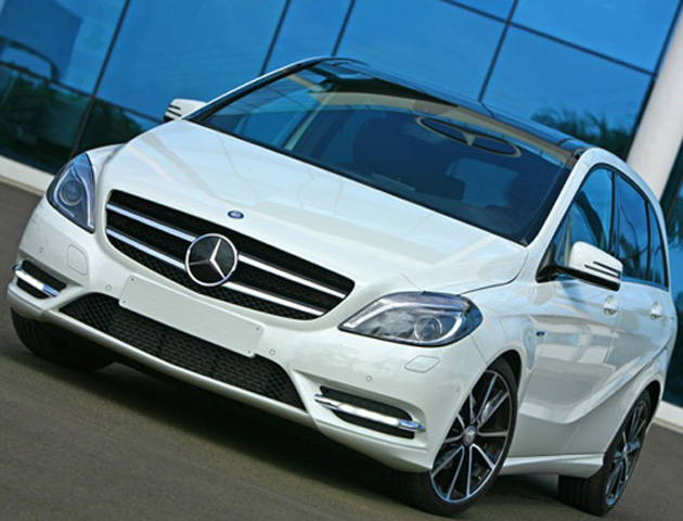 New Mercedes Benz B Class unveiled launch in Sept October 2012