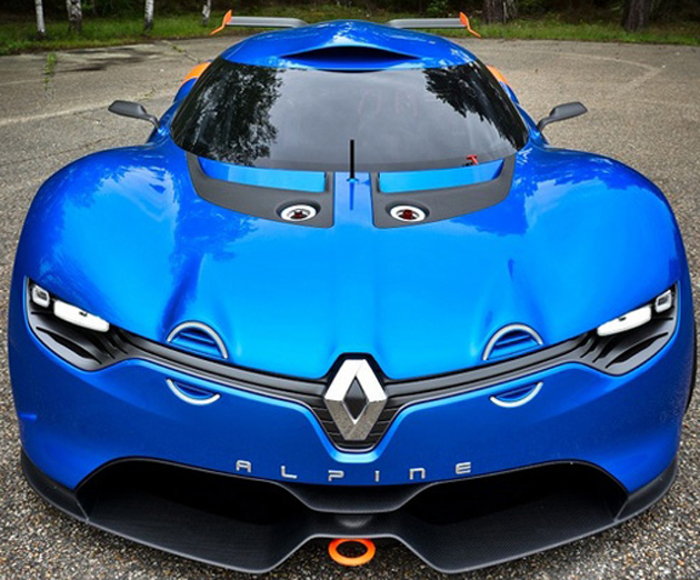 Renault Commemorates the 50th Anniversary of the Alpine A 110