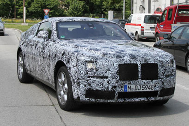 Rolls Royce Ghost Coupe Caught Testing on the Roads in UK