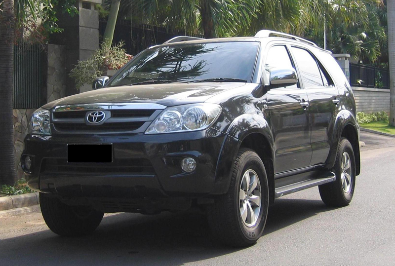 Toyota Fortuner in India