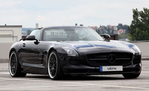VATH adds supercharger to the Mercedes SLS Roadster