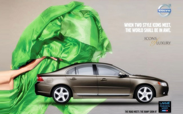 Volvo Cars Partners India Fashion Week