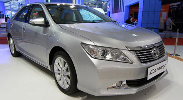 2012 Toyota Camry might be launched on 24th August Scoop