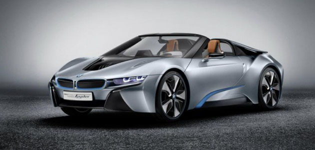 BMW i8 Spyder To Enter Production Two Years After Coupe