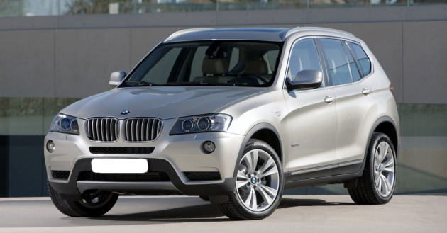 First rear wheel drive bmw x3 a look