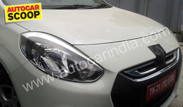 First spy shots of the Renault Scala seen on the internet