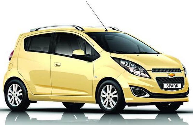 GM releases images of new Chevrolet Beat