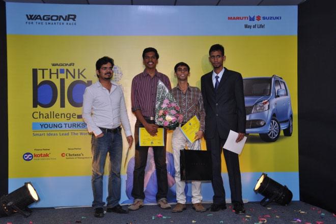 Guwahati boy wins Season 3 of Maruti Suzuki Wagon R Think Big Challenge
