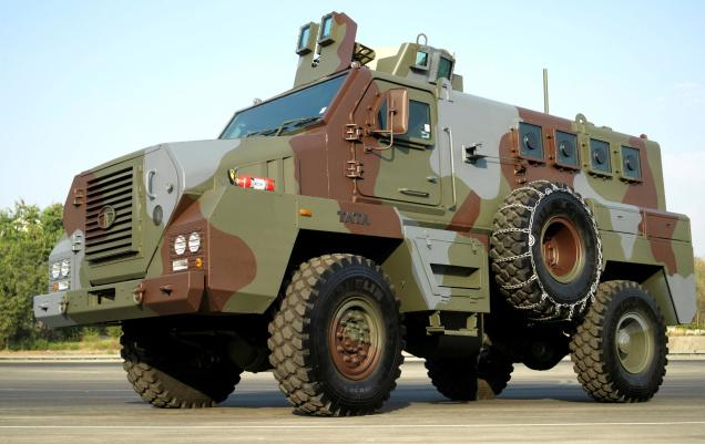 Jharkhand Police Force gets 5 Tata Mine Protected Vehicles