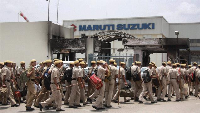 Maruti trying to reopen its Manesar plant after labor unrest