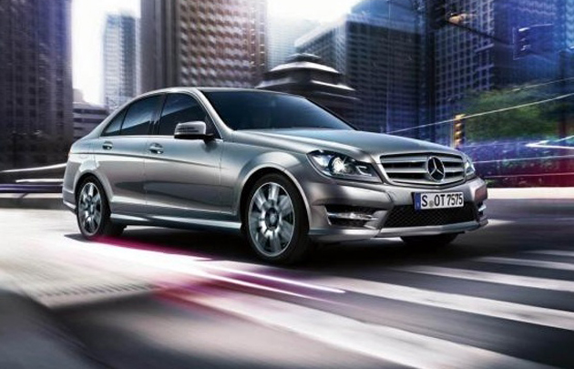 Mercedes Benz  C Class to get upgrades in 2013 model year