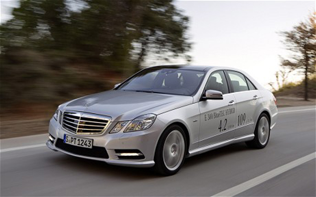 Mercedes-Benz E 300 Blue Tech Hybrid revealed