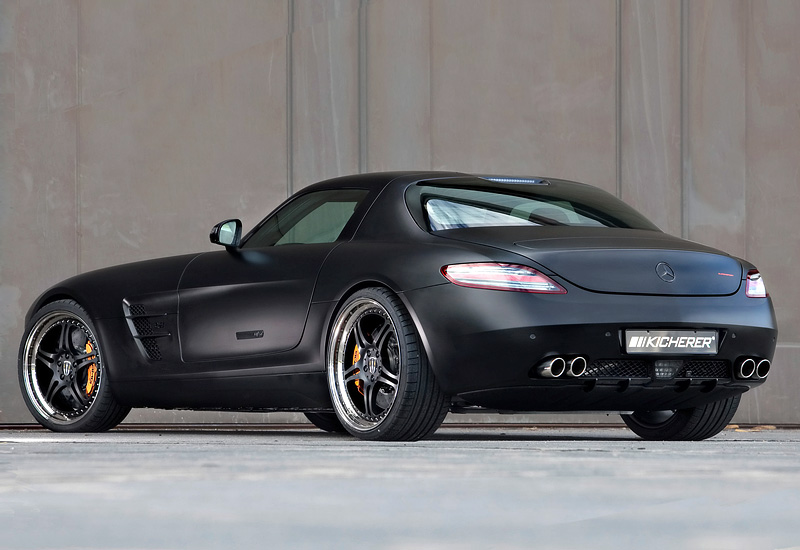 Mercedes-Benz SLS AMG Kicherer Supersport Black Edition
