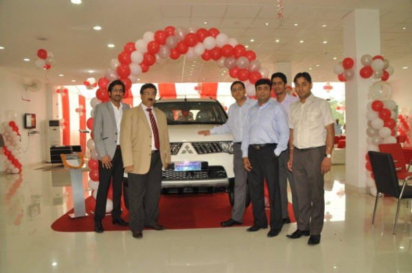 Mitsubishi opens dealership in Amritsar Punjab