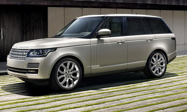 New 2014 Range Rover revealed
