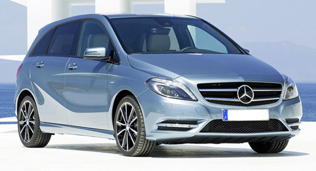 New Mercedes-Benz B-Class uncovered to be launched in Sept-October 2012