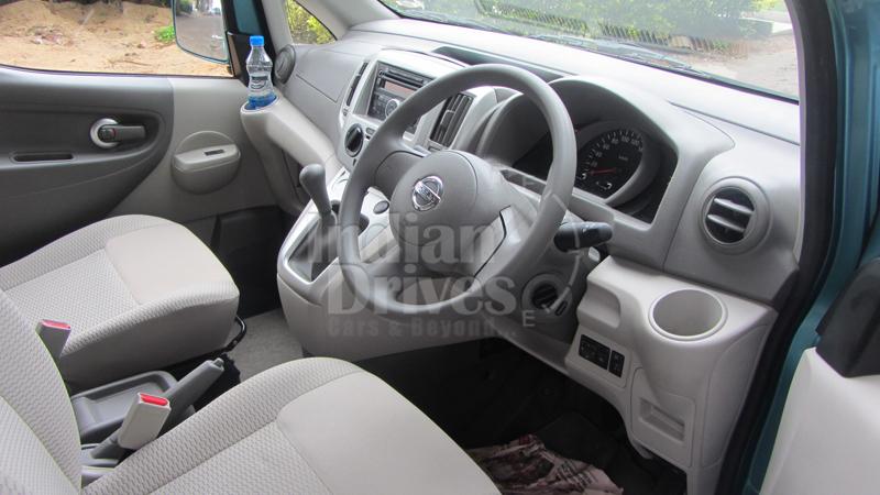 Nissan Evalia interior