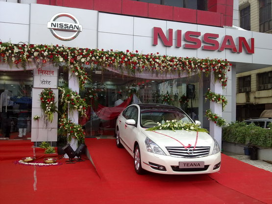Nissan third dealership in Mumbai