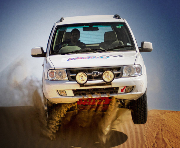 Tata Motors finishes up Full Throttle Trail in Dehradun with success
