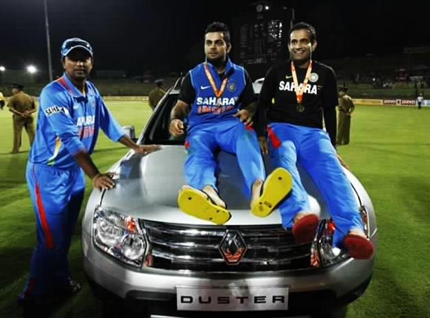 Virat Kohli bags the Renault Duster
