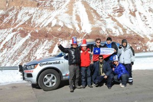 World record set by Volkswagen Touareg