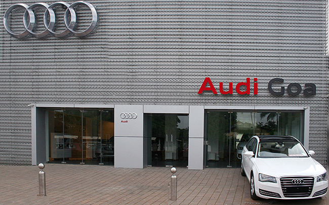 Audi India kicks off first showroom in Goa