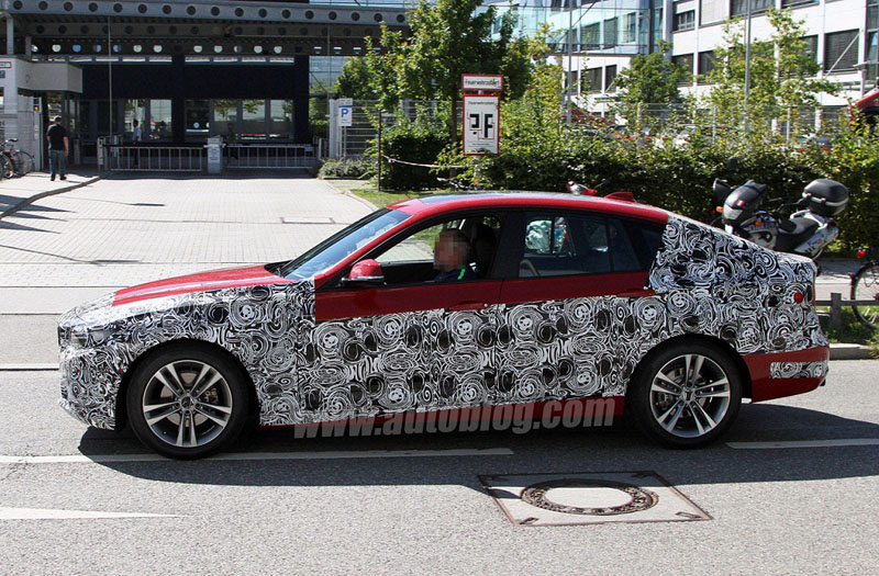 BMW 3 Series GT Spy Pics Surfaces on the Net
