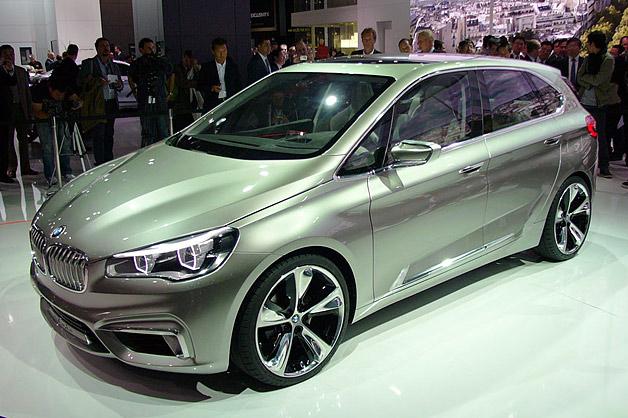 BMW shows its Concept Active Tourer in Paris