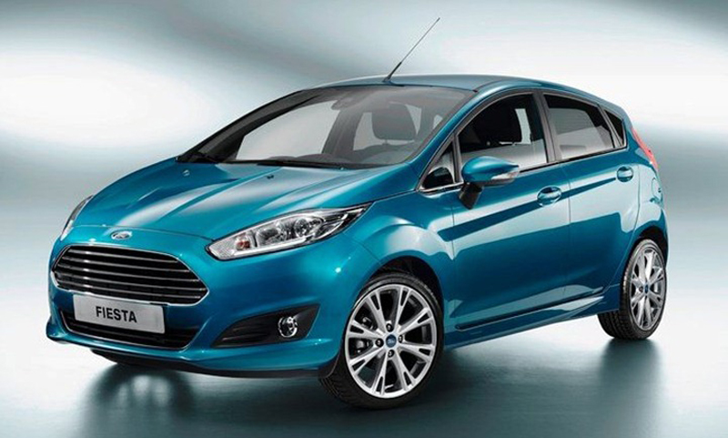 Ford Fiesta Hatchback revealed, coming to India in 2013