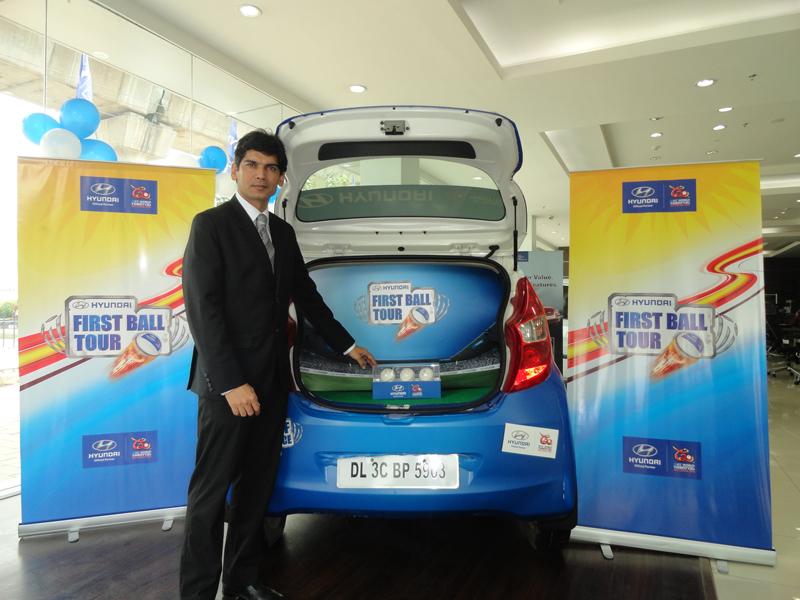 Hyundai showcases 'First Ball' for ICC World T20