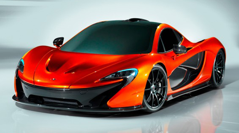 McLaren unleashes P1 Supercar