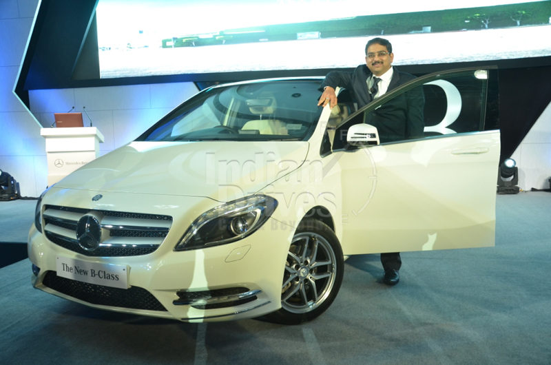 Mercedes Benz B-Class launched in India