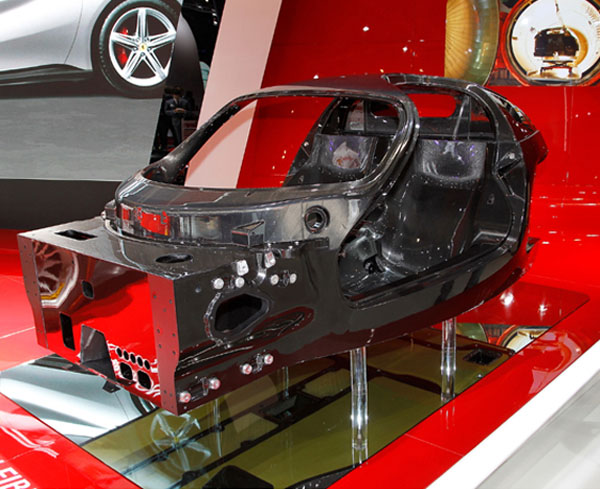 New Ferrari Enzo Chassis revealed