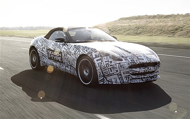 New Jaguar F type unveiled